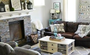 a vintage industrial country summer home tour, home decor, living room ideas, repurposing upcycling, stairs, wall decor