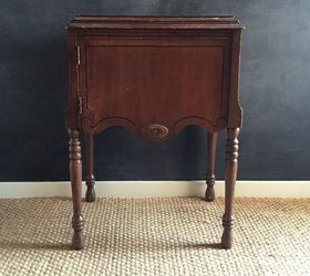 Sewing Machine Cabinet to Liquor Cabinet With Glass Top for ...