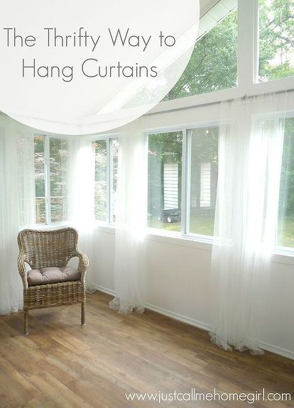 inexpensive window treatments entryway inexpensive way to hang curtains how to repurposing upcycling window treatments windows curtain rods are so expensive and you just saved me bundle