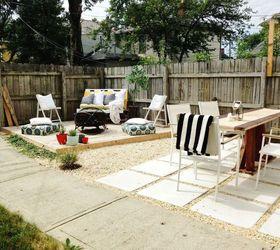 Merveilleux Diy Budget Backyard And Deck Makeover, Concrete Masonry, Decks, Fences,  Gardening,