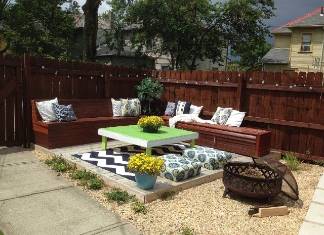 diy budget backyard and deck makeover hometalk
