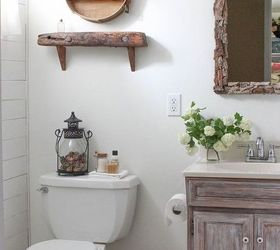 Tiny Bathroom Makeover Before And After, Bathroom Ideas, Chalk Paint, Diy,  Home