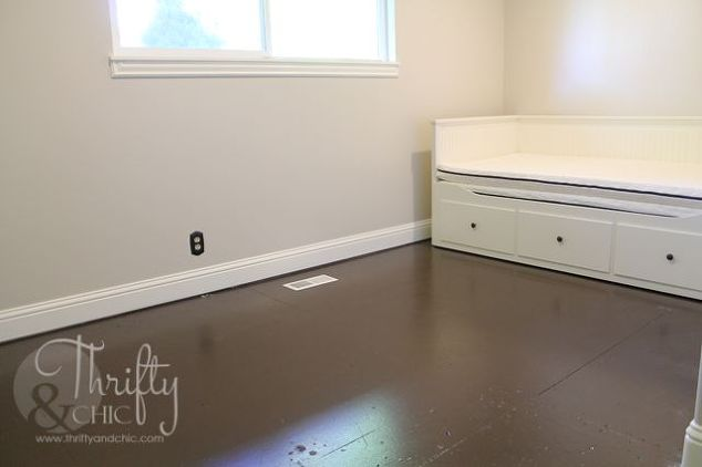 Painted Plywood Sub Flooring How To Painting