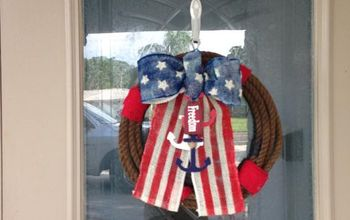 Flag Day Nautical Wreath