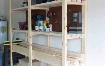 Easy DIY Garage Shelving!