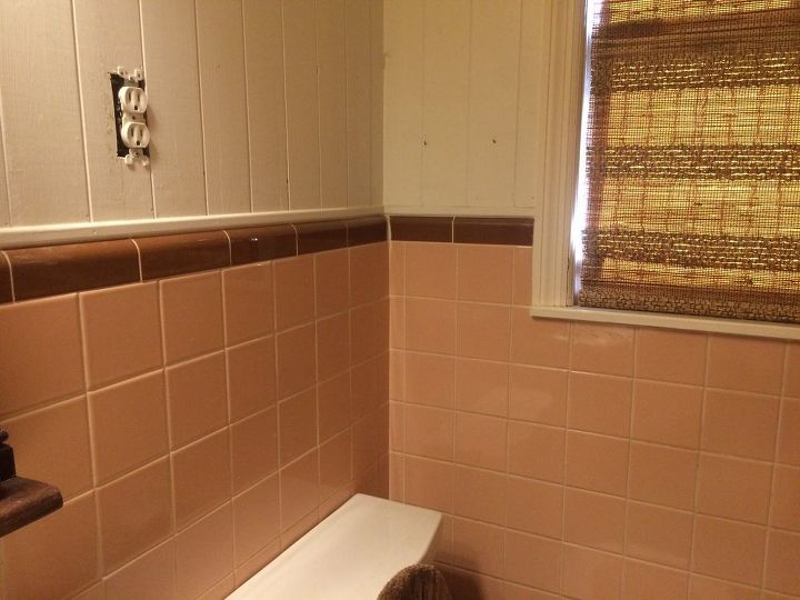 Superb Painting 50S Pink Tiles In Bathroom Hometalk Interior Design Ideas Gentotryabchikinfo