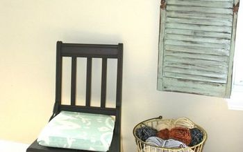Best Chalk Paint Recipe Ever and Chair Makeover to Prove It!
