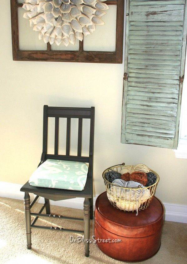 best chalk paint recipe ever and chair makeover to prove it, chalk paint, diy, how to, painted furniture