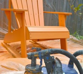 Painting Outdoor Furniture With A Paint Sprayer, Outdoor Furniture, Painted  Furniture ...
