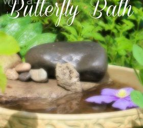 Merveilleux Attracting Butterflies To Your Garden With A Butterfly Bath, Gardening,  Outdoor Living, Pets
