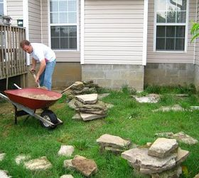 Superbe Create A Rock Patio In Your Yard, Concrete Masonry, Diy, Gardening, How