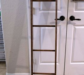 Diy Ladder Pot Rack, How To, Kitchen Design, Organizing, Repurposing  Upcycling,