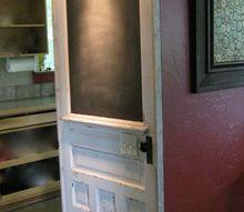 chalkboard door, chalkboard paint, crafts, doors, painting