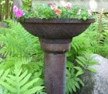 new life for an old chimney and drain tile, container gardening, gardening