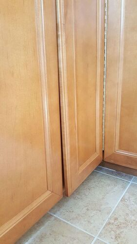 Warped cabinet doors | Hometalk