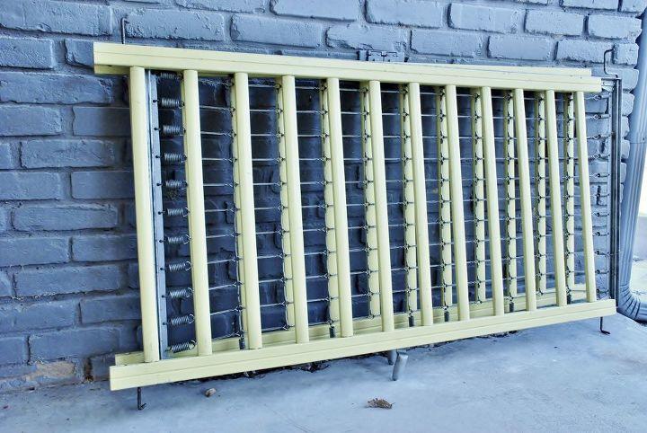 Repurposed Bathroom Ideas: Repurposed Crib Frame To Bathroom Wall Decor