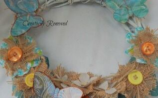 how to make a wreath from scraps, crafts, how to, repurposing upcycling, wreaths