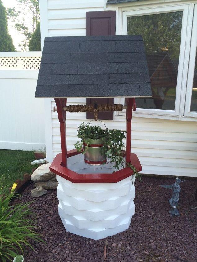 How to Make A Wooden Garden Wishing Well | Hometalk