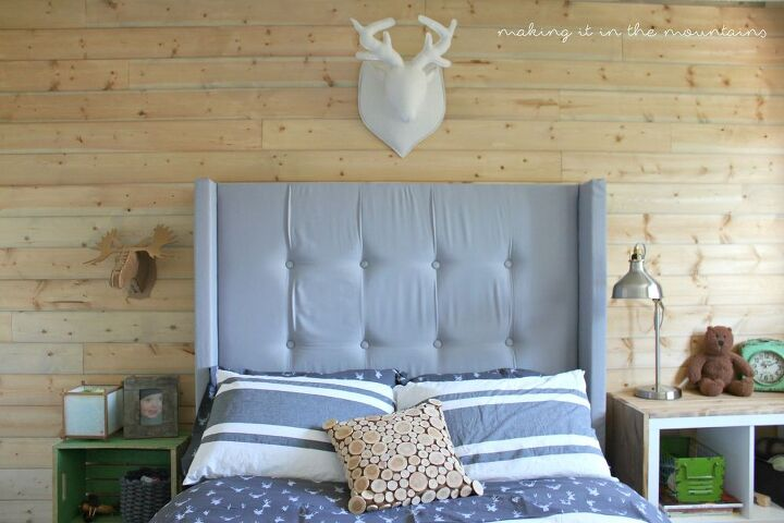 How to Make Your Own DIY Upholstered Wingback Headboard | Hometalk