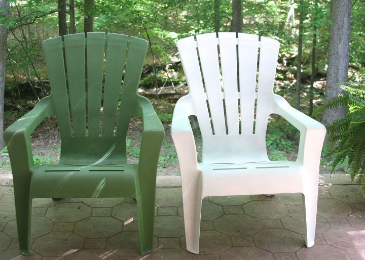 how to paint plastic outdoor furniture, how to, outdoor furniture, painted furniture