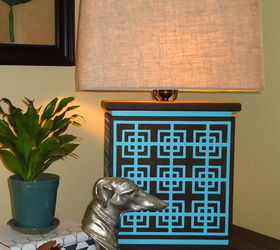 how to make and stencil a designer l& with cutting edge stencils crafts how & How to: Make and Stencil a Designer Lamp With Cutting Edge ... azcodes.com