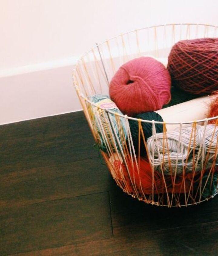 Great for yarn storage!