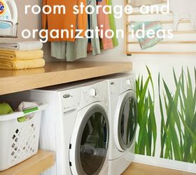 10 Smart Small Laundry Room Storage And Organization Ideas, Laundry Rooms,  Organizing, Storage