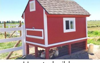 Barn Pallet Chicken Coop