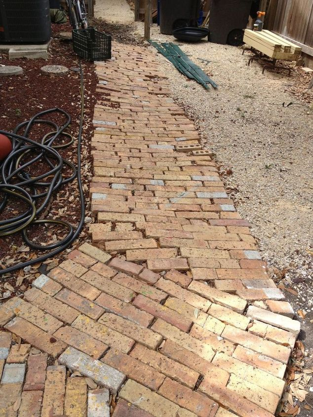 from a tired ole looking yard island to a patio, concrete masonry, gardening, outdoor living, patio