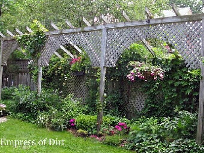 8 diy privacy screens for your outdoor areas, curb appeal, decks, fences, outdoor living, patio, repurposing upcycling, Photo via Melissa Empress of Dirt