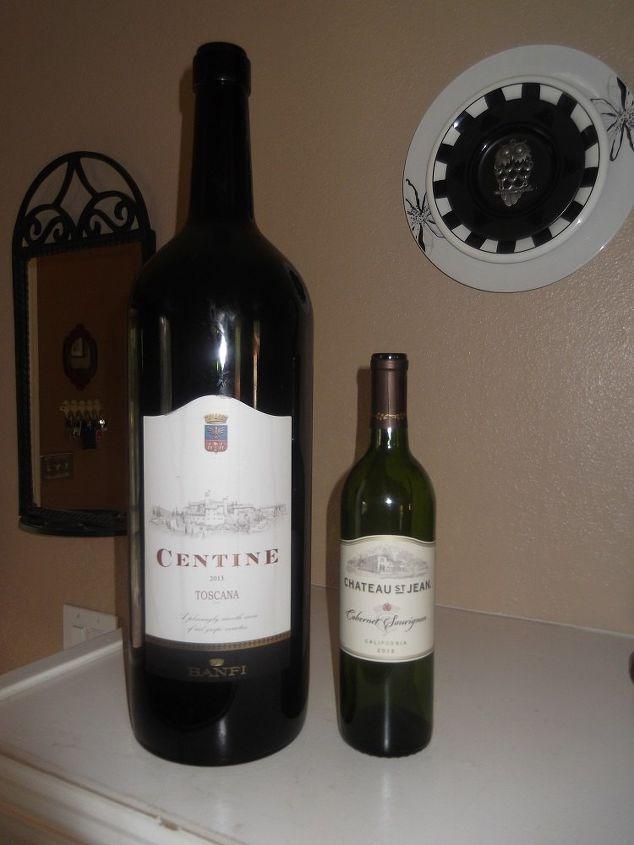 q how to repurpose 5 liter wine bottle jeraboam size, repurposing upcycling