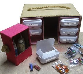 Craft Storage Made From Recycled Bottles Centre, Crafts, How To,  Organizing, Repurposing