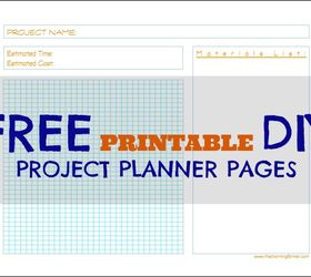 photo regarding Diy Planner Printables named Absolutely free Printable Do it yourself Challenge Planner Internet pages Hometalk