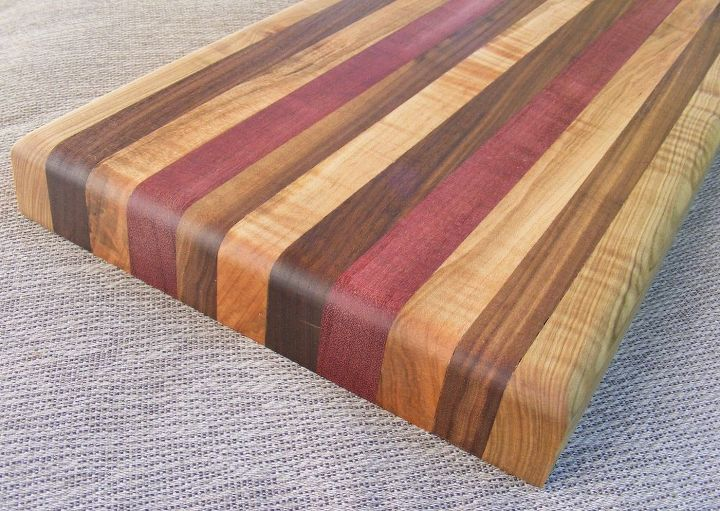 how to make a wooden cutting board, diy, how to, kitchen design,