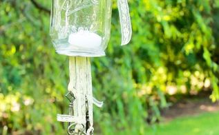 antique key wind chimes, crafts, how to, mason jars, outdoor living, repurposing upcycling