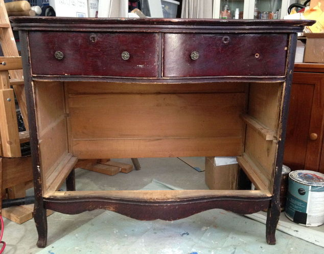 Vintage Dresser Restoration Before And After Painted Furniture Repurposing Upcycling