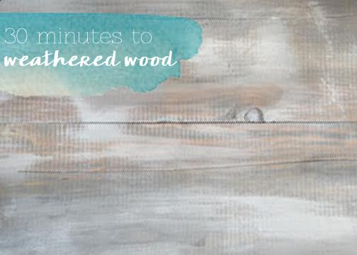 how to get grey weathered wood, how to, painted furniture, painting