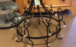q repurposing a chandelier for wedding decor, lighting, repurposing upcycling, wall decor