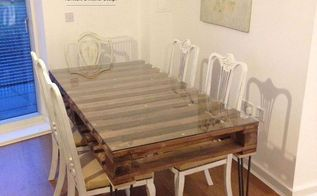 Pallet Wood Farmhouse Dining Table Hometalk