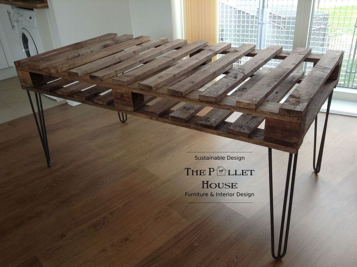 Completely New Dining Room Table Made Of Salvage Pallet
