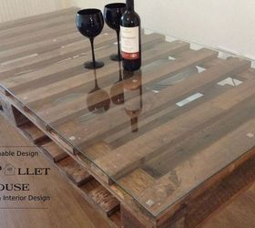Amazing Dining Room Table Made Of Salvage Pallet, Diy, How To, Painted Furniture,