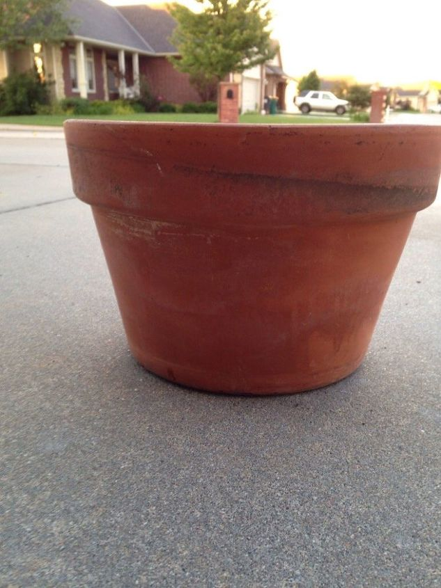 flower pot fairy garden, container gardening, gardening