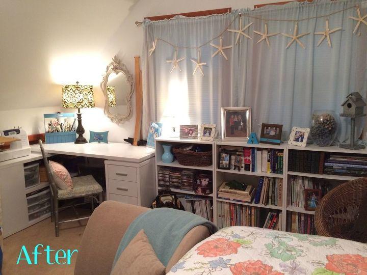Before Amp After Guest Room Art Studio Makeover Hometalk