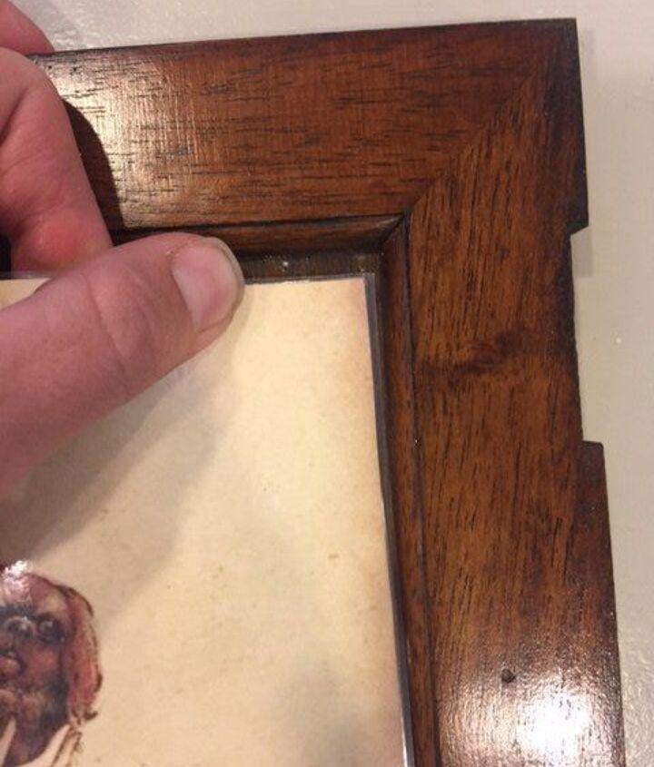 Tuck edge of paper into the door panel
