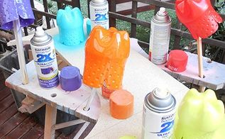 recycled plastic bottle party favour containers, crafts, repurposing upcycling