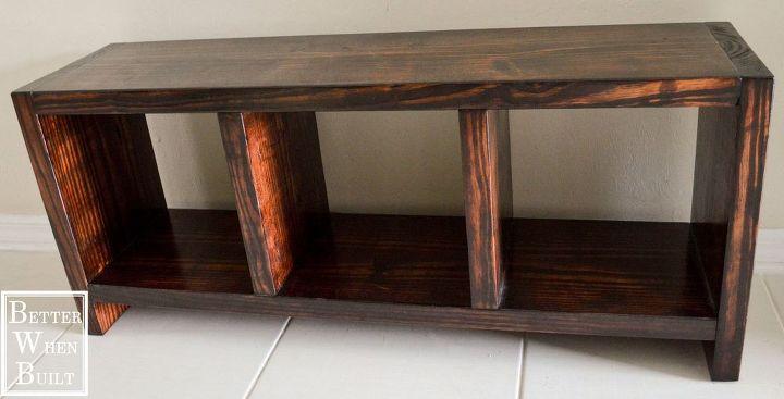 Used Foyer Bench : Diy entryway bench hometalk