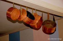 how to create a kitchen rack pots, how to, kitchen design, organizing, storage ideas