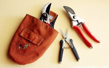 a quick easy way to clean sharpen your pruners, cleaning tips, gardening