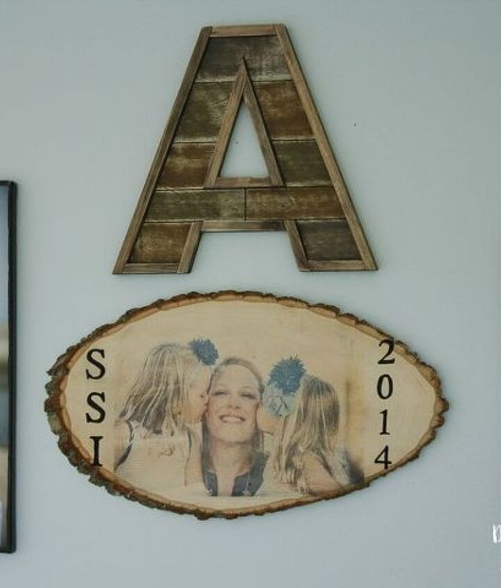 rustic wood photo transfer, crafts, how to