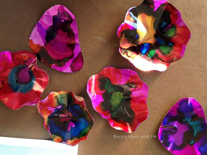 recycled soda can flowers wall art, crafts, how to, repurposing upcycling